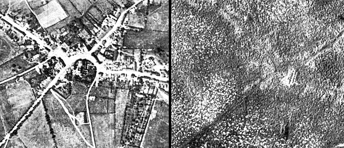 The city of Ypres before and after the war