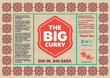 Big Curry placemat