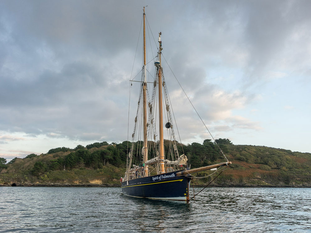 Turn to Starboard - Spirit of Falmouth