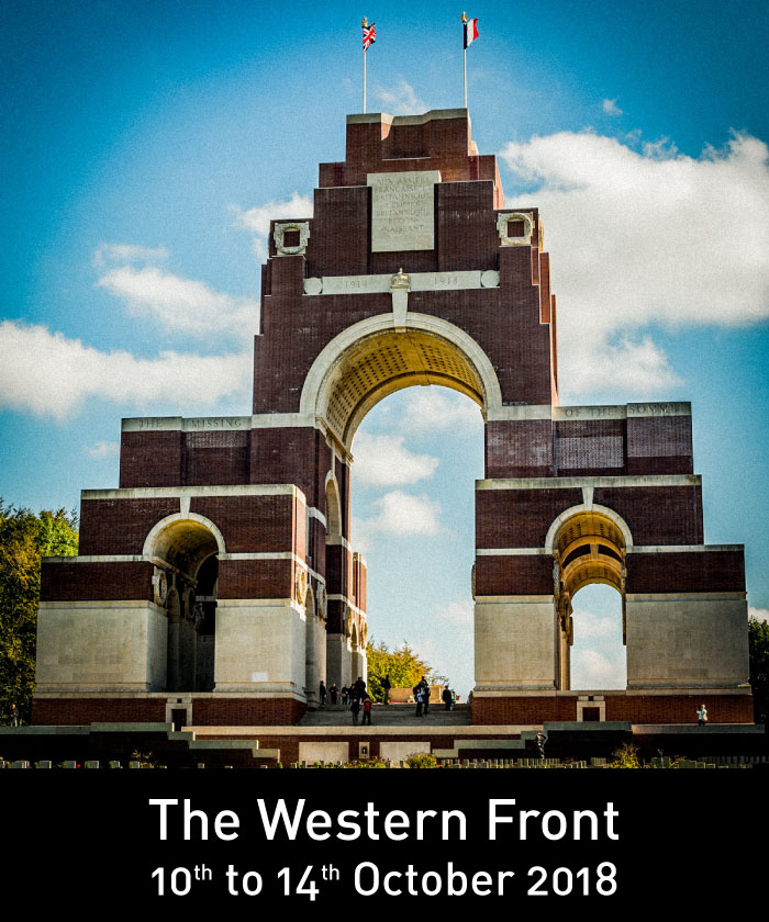 The Western Front - 10th to 14th October 2018