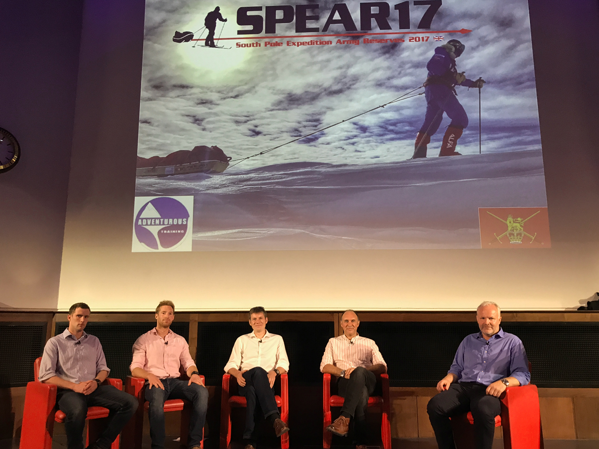 SPEAR17 Team at the Royal Geographic Society