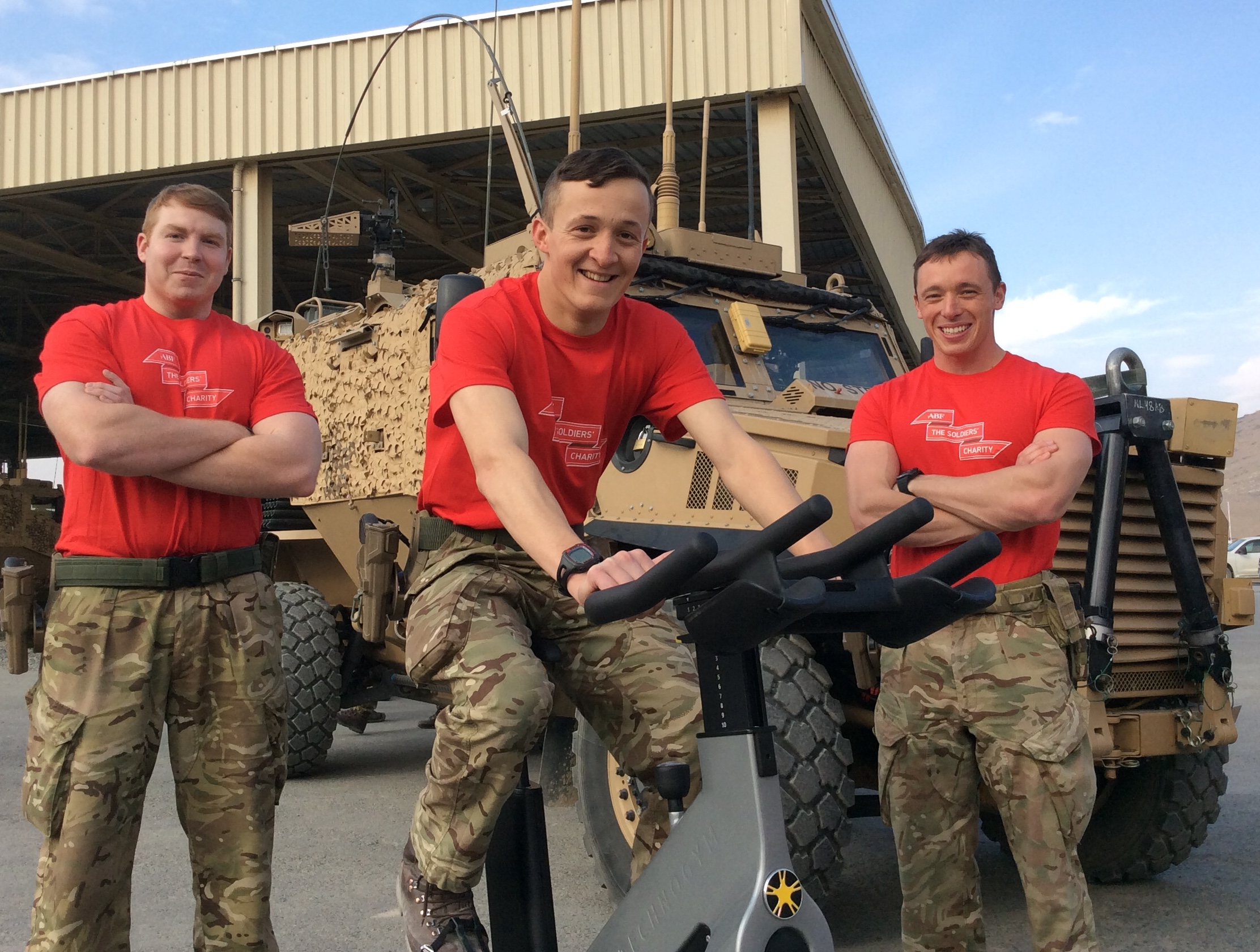 2nd Battalion The Yorkshire Regiment Riding Home For Christmas