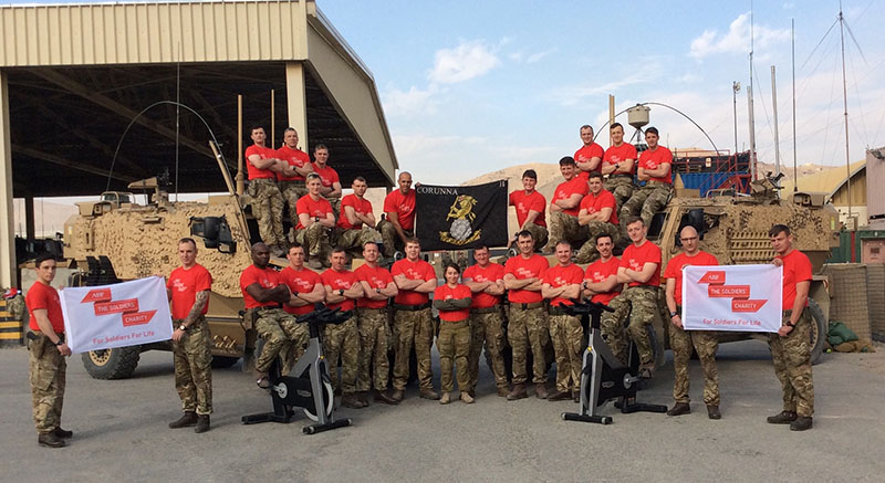 2ndBattalion The Yorkshire Regiment Riding Home For Christmas
